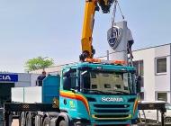 PIPAL-Transporte: Passgenau und einwandfrei - Arbeiten mit dem Kran • Bruck an der Leitha, Niederösterreich