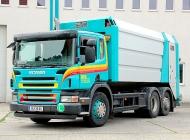 Hausmüll: EURO6 Müllsammelfahrzeug von PIPAL-Transporte • Bruck an der Leitha, Niederösterreich